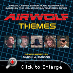 Airwolf Themes Original Soundtrack Cover