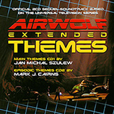 Airwolf Themes Original Genuine Release CD Cover Artwork