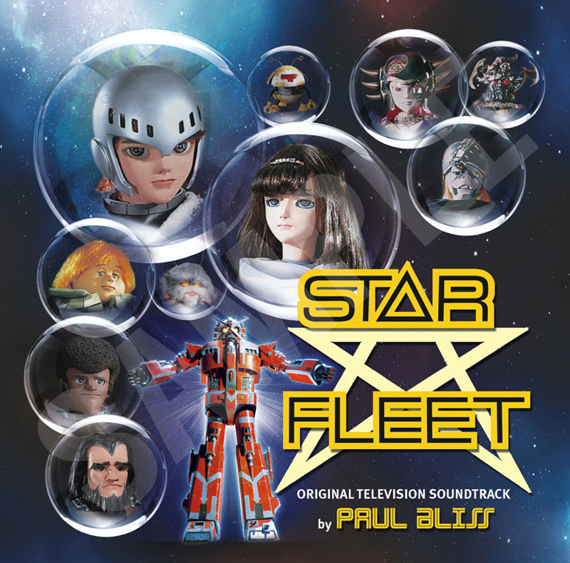 Star Fleet TV Soundtrack Official CD Cover