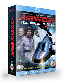 NEW Airwolf Bluray - Seasons 1-3