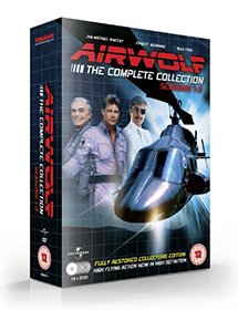 NEW Airwolf DVD - Seasons 1-3