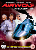 Airwolf Season 2 DVD Box Set - UK Region 2 by Fabulous Films