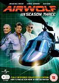 Airwolf Season 3 DVD Box Set - UK Region 2 by Fabulous Films