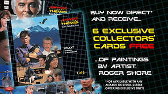 Roger Shore Airwolf Paintings Collectors Cards graphic