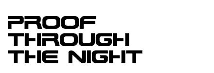 Airwolf Episode Title - Proof Through The Night