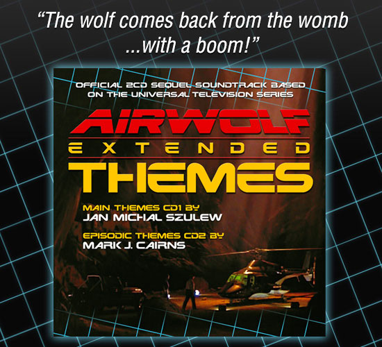 Airwolf Extended Themes Music Soundtrack 2CD