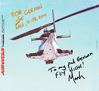 Airwolf fan get his Airwolf Extended Themes 2CD signed by both musicians