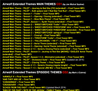 Updated Airwolf Extended Themes TRACKLIST