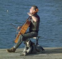 Airwolf Eagle's Cello Theme Music graphic