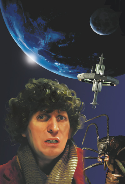 Doctor Who - Tom Baker Posters by Roger Shore - Ark in Space