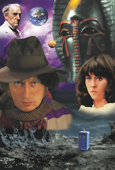 Doctor Who - Tom Baker Posters by Roger Shore - Pyramids of Mars