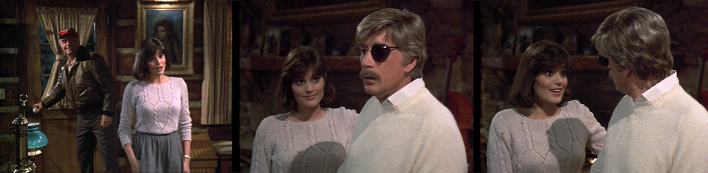 Airwolf 1st Season episode ECHOS FROM THE PAST with the late MICHELLE NICASTRO,, ERNEST BORGNINE and ALEX CORD